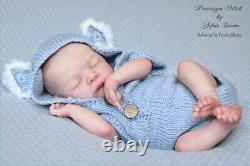MICK BY ADRIE STOETE Reborn Baby Doll Kit 16New With BodyCOA