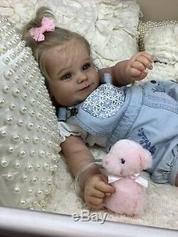 Maddie By Bonnie Brown Reborn Realistic Art Girl Baby Doll