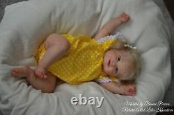 Maddie by Bonnie Brown reborn baby doll with certificate of authenticity