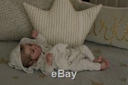 Magnolia Dream Doll Reborn baby Boy Darren sleeping realborn 17.5'' painted hair