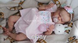Magnolia Dream Doll Reborn baby girl 19'' Journey by Laura Lee Eagles