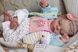 Magnolia Dream Doll Reborn baby girl Tia by Bonnie Sieben 20'' LE1200 COA