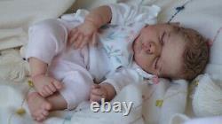 Magnolia Dream Doll Reborn baby girl boy Willa by Cassie Brace LE COA 19.5
