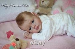 Mary Anderson Dolls beautiful reborn baby Chloe Natali Blick