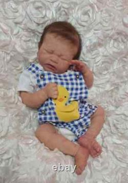 Mondays Child FBS By Joanna K, painted by Anne Cameron reborn doll/baby