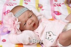 My Adorable Baby Girl! Berenguer Preemie Lifelike Reborn Doll W Pacifier, Bottle