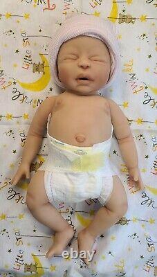 NEW 14 Full Body Silicone Baby Girl Doll Sabrina