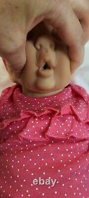 NEW 18 Newborn Preemie Full Body Silicone Baby Girl Doll Willow