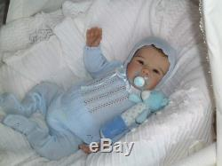 New Baby Timéo Full Body Soft Solid Silicone Girl Reborn Doll