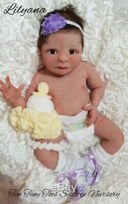 OOAK Prototype lilyana full bodied silicone by Jo Birch reborn doll/baby
