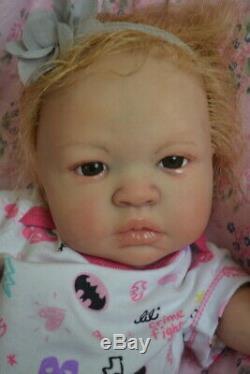 Ooak Reborn newborn baby Girl reborn baby Addison Art doll