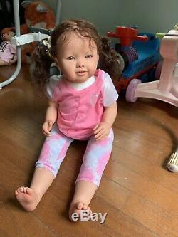 Ooak Reborn newborn baby Girl reborn baby Toddler Maggie art doll
