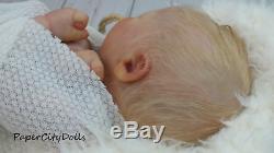PAPER CITY DOLLS Reborn Doll Just Born Reborn Realborn Baby Everest James