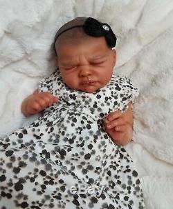 PROTOTYPE Reborn Baby Girl FRIDA by Lorraine Yophi AA Ethnic Lifelike Doll