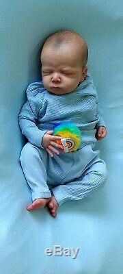PROTOTYPE reborn baby doll Cayle by Olga Auer artist Katti Winter