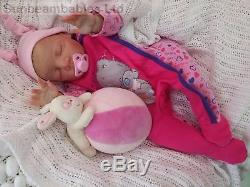 Pat Moulton And Sunbeambabies 20 Kyle Reborn Baby Doll Soft Silicone Vinyl