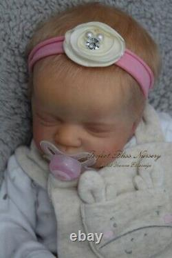 Pbn Yvonne Etheridge Booboo / Damaged Reborn Doll Sculpt Evie By Laura Eagles