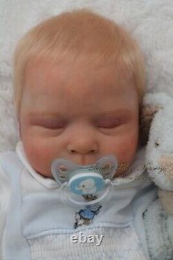Pbn Yvonne Etheridge Reborn Baby Doll Boy Sculpt Luciano By Cassie Brace 0221