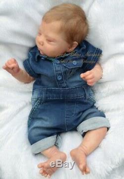 Pbn Yvonne Etheridge Reborn Baby Doll Boy Sculpt Luciano By Cassie Brace 0319