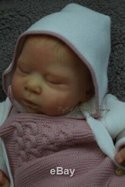 Pbn Yvonne Etheridge Reborn Baby Doll Girl Sculpt Luciano By Cassie Brace 0119