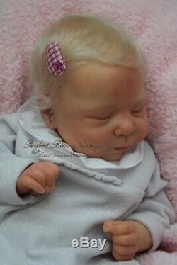 Pbn Yvonne Etheridge Reborn Baby Doll Girl Sculpt Luciano By Cassie Brace 0120