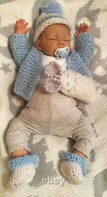 Peter NEWBORN BABY Child friendly REBORN doll cute Babies