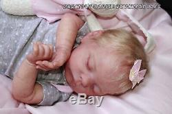 Precious Baby Doll Girlluxe-cassie Bracereborn By Mimadollsiiorapraisecrib