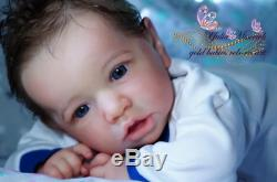 Precious Wonders-Reborn Baby Boy Real Born Prototype Alexander by Yulia Misevich
