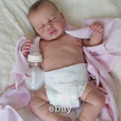 Preemie Lifelike Full Silicone Baby 20 Newborn Toddler Cuddly Love Reborn doll