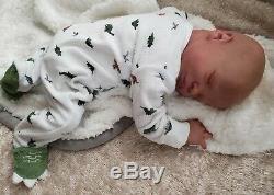 Presley Asleep Reborn Baby Doll By Bountiful Baby Realborn OOAK