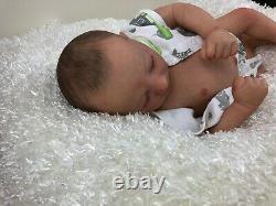 Price Reduced Deena's Realistic Reborn Baby Boy (Jaxson) Asleep 19 long
