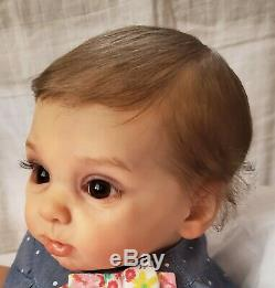 Princess Adelaide Russian Made Reborn By Andrea Arcello OOAK Baby Doll