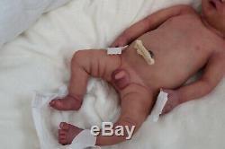 Prototype Full Body Silicone Jaxon made by Susan Gibbs Anatomically Correct Boy