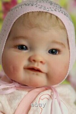 Prototype reborn baby girl doll Naomi by Ping Lau IIORA