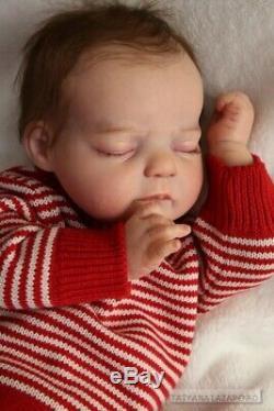 Prototype reborn baby girl doll Penelope by Jannie de Lange IIORA