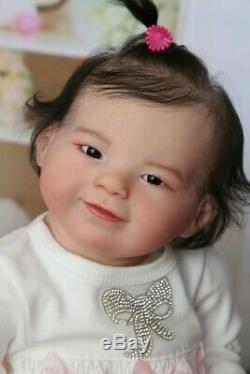 Prototype reborn baby girl doll Yuki by Jannie de Lange IIORA
