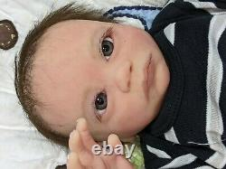 Prototype solid Ecoflex 15 silicone Baby boy Matthew DRINK/WET with armatures
