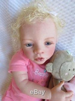 RARE! DELICATE Reborn Doll- BREYONA By CHARISSE FARAUT Baby GIRL