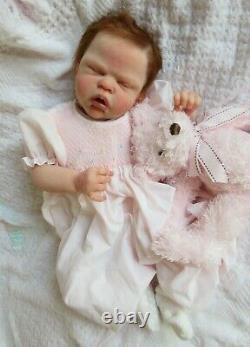 RARE Partial SOLID SILICONE Baby GIRL Doll SAILOR ROSE by CASSIE BRACE