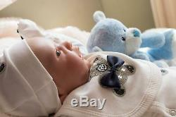 REBORN BABY DOLL GINGER NICE BOX OPENING ARTIST OF 9yrs MARIE / SUNBEAMBABIES