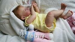 REBORN BABY DOLL Girl SCULPT AUGUST BY DAWN MCLEOD Limited Edition / COA toddler