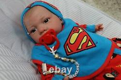 REBORN BABY DOLLS UP TO 7lbs CHILD FRIENDLY 20 GEORGE FLOPPY SUNBEAMBABIES GHSP