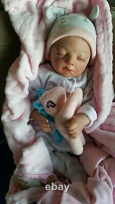 Rare Reborn Baby Doll by Finn by Tina Kewy