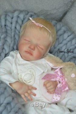 Ready to ship Reborn Baby Doll Girl Cayle by Olga Auer Boona's Babies Newborn