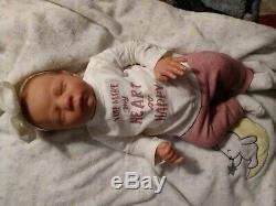 Realborn Dominic Asleep Reborn Baby Doll Reborn by Damichela Reborns