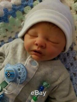 Realborn Reborn Baby Boy Marissa May (Sam) Cute Realistic Doll Newborn