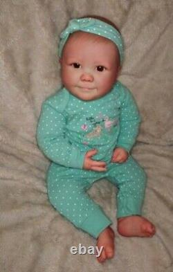 Realborn Reborn Baby June 7 month Awake 25 Custom Order Last One