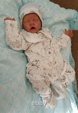 Realborn Twin A by Bonnie Brown CHEAP BABY REDUCED now with paintedhair