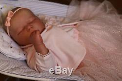 Realistic Toddler Doll Reborn 8lbs Realborn Baby Ellie Mae By Marie. Artist 9yrs