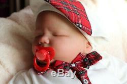 Realistic Toddler Doll Reborn Big 8lbs Realborn Baby Landon By Marie Artist 9yr